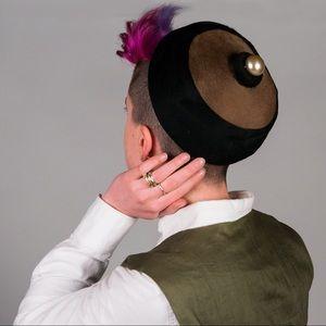 Vintage Round Hat